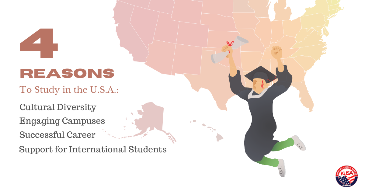 4 Reasons To Study in the United States